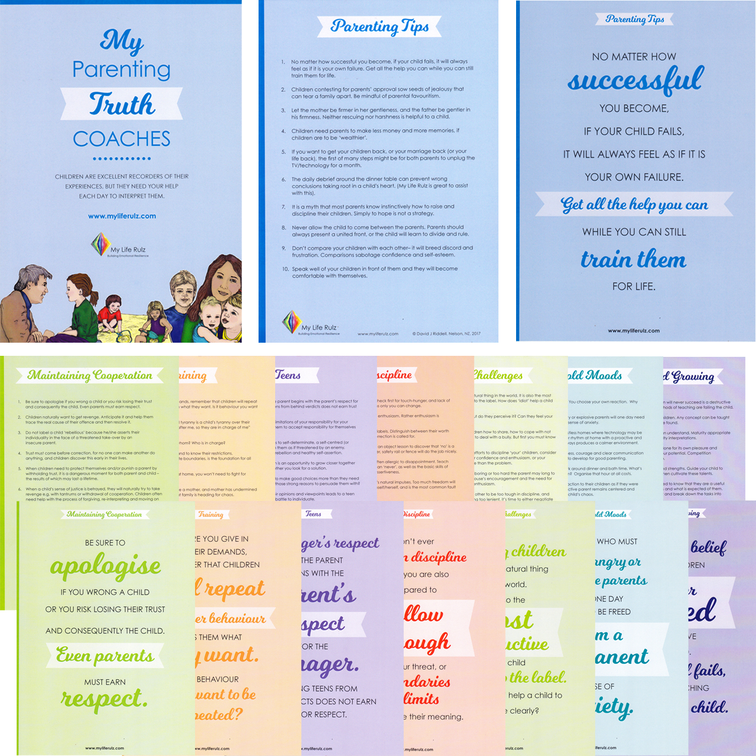 Parenting Truth Coach Cards