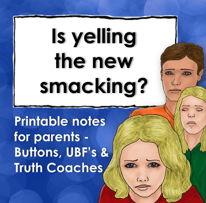 Is yelling the new smacking?